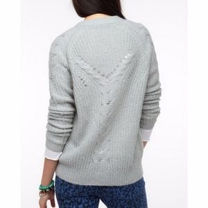 Kimchi Blue Back Stitch Button Down Cardigan